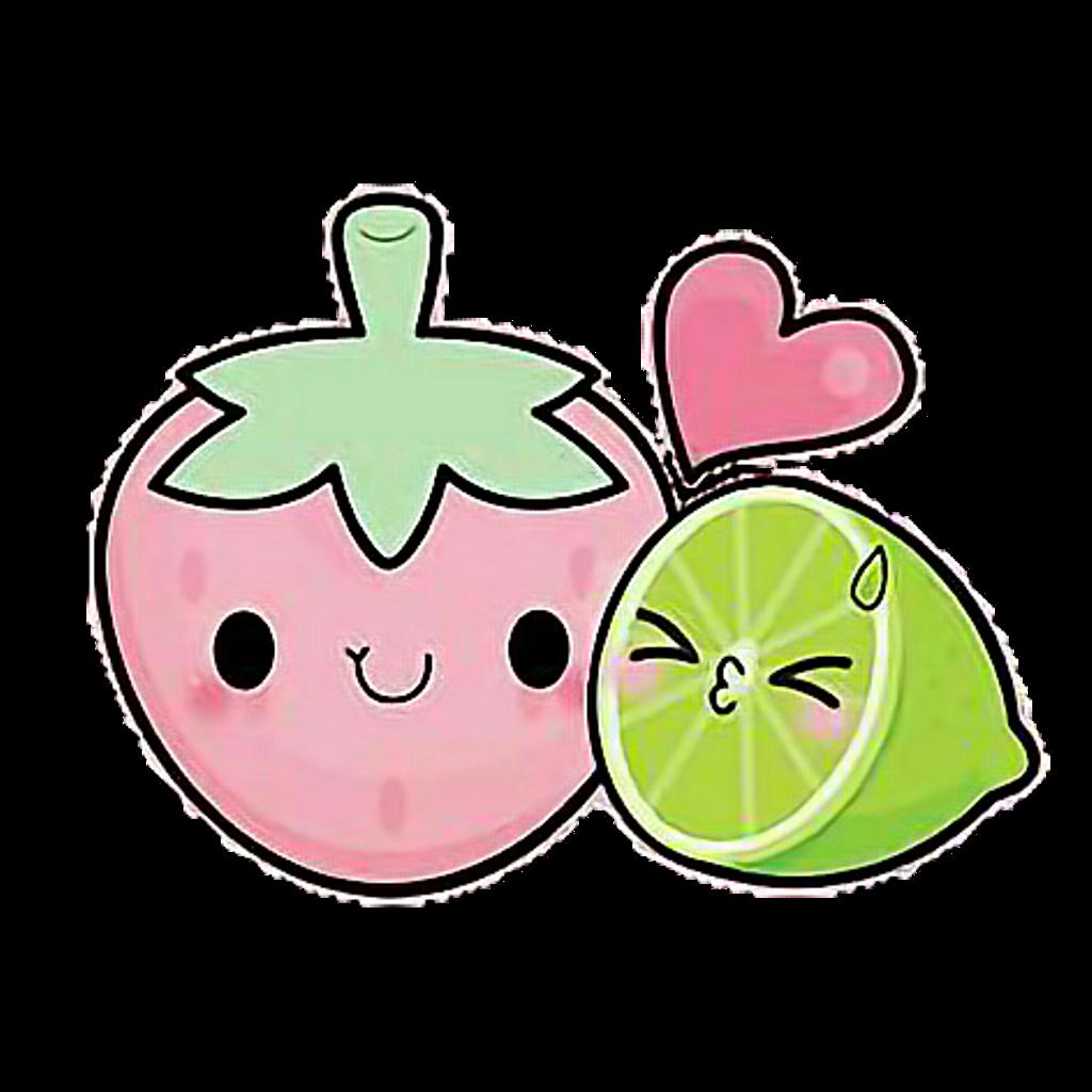 kawaii lemon fresa