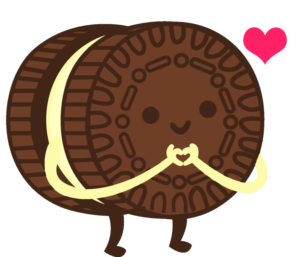 Oreo clipart double stuff. Gallery images cookie by