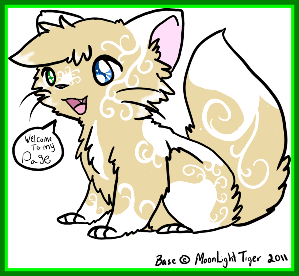 Fascinating swirling wind by. Kawaii clipart kitten
