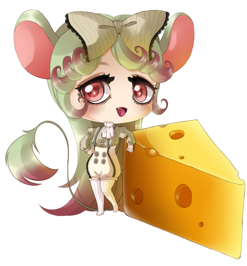 Kawaii clipart mouse. This is my entry