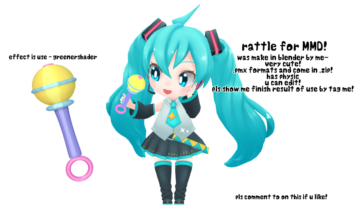 Noodles clipart kawaii. Mmd dl rattle by