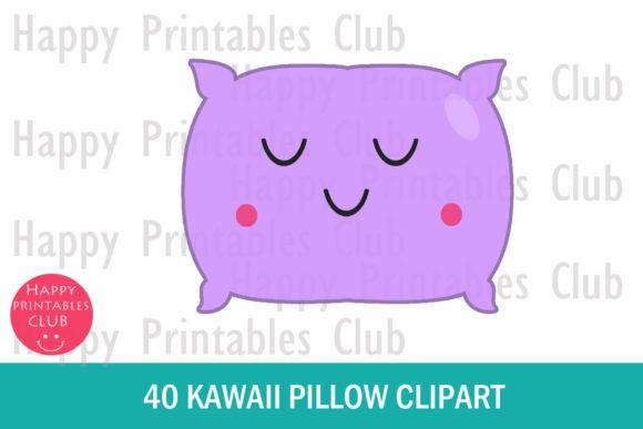 Pillow clipart cute pillow. Kawaii png