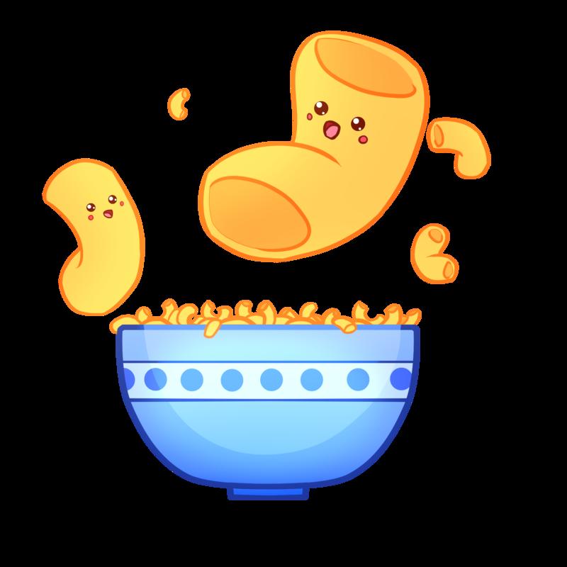 Kawaii clipart soup. Don t do macaroni