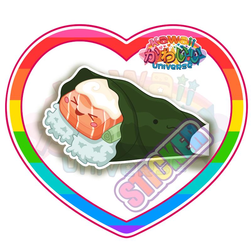 Kawaii food universe cute. Pillow clipart sham