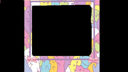 magicalnekoteacup my pixel. Kawaii frame png