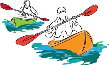 Kayak clipart clip art. Gomediaction net