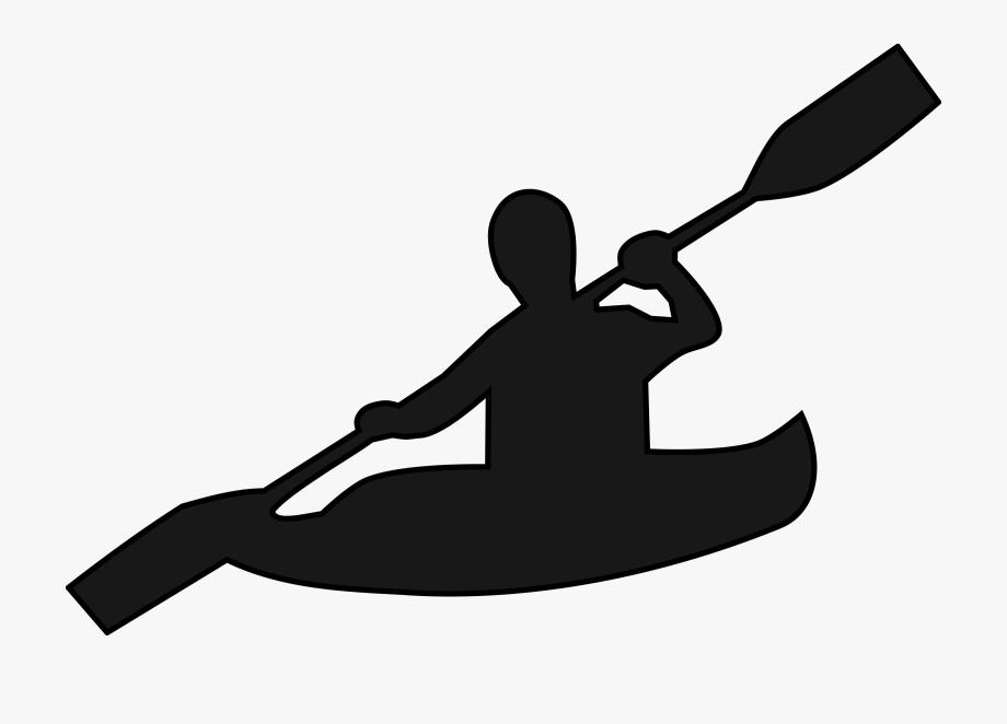 Kayak clipart clip art. Canoeing kayaking cliparts cartoons