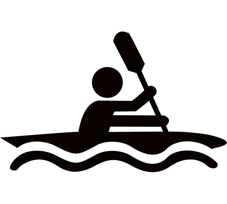 Kayaking clipart adventure. Home take it outdoors