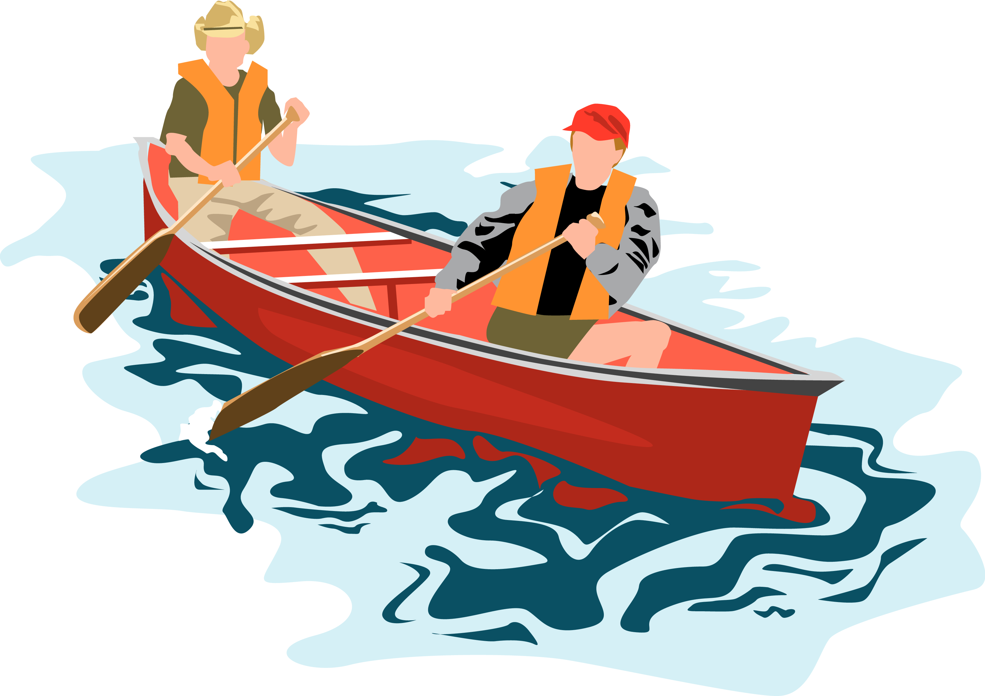 Download wallpaper canoe full. Kayak clipart pirogue