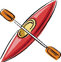 Free kayaker cliparts download. Kayak clipart red kayak