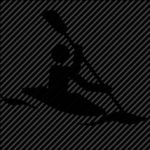 Kayaking clipart icon. Kayak free icons library