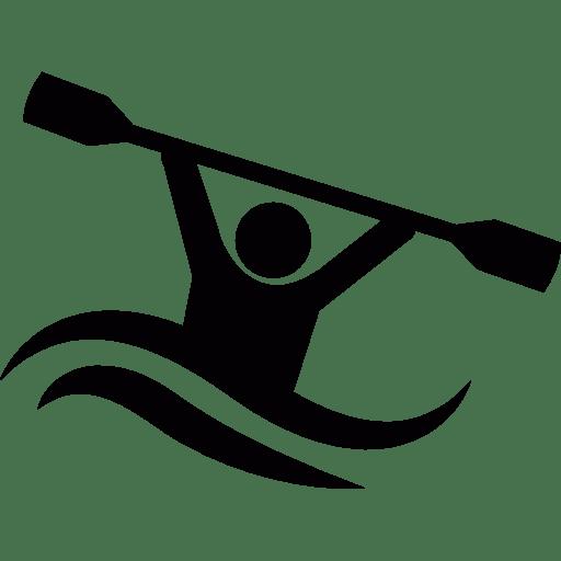 Kayak transparent png stickpng. Kayaking clipart icon