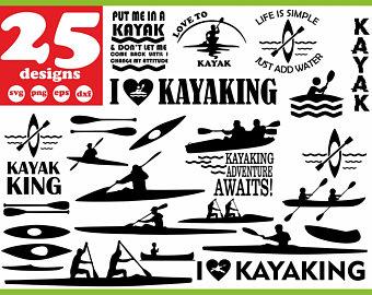 Download Kayaking clipart svg, Kayaking svg Transparent FREE for ...