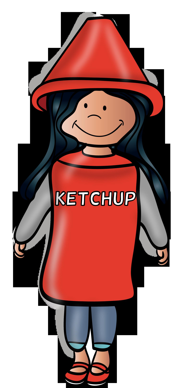 Ch b halloween clip. Ketchup clipart small