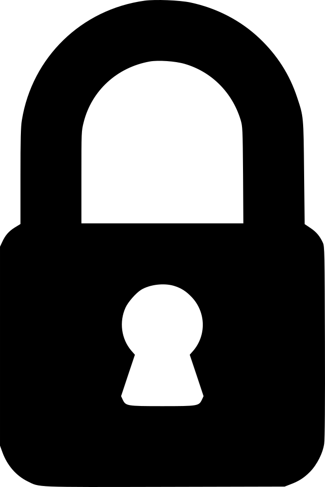 Kettlebell clipart svg. Lock png icon free