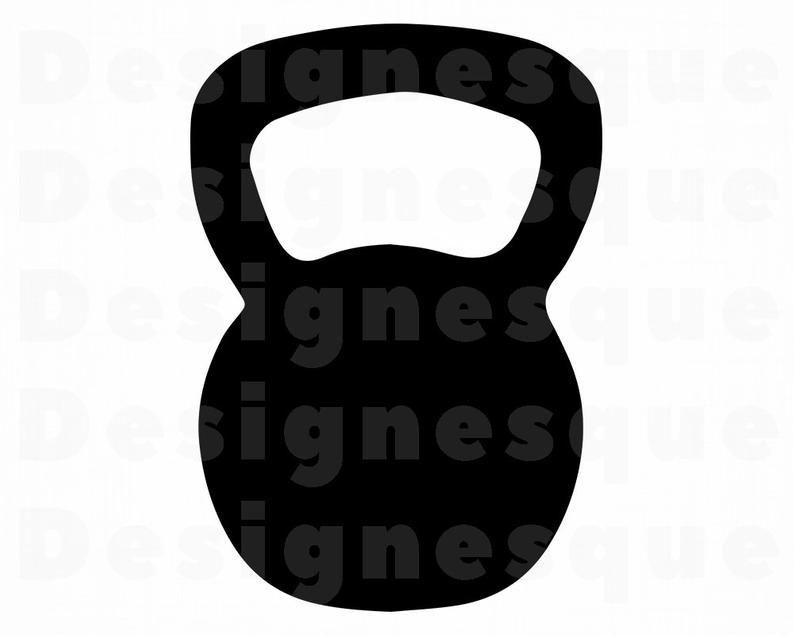 Weights files for cricut. Kettlebell clipart svg