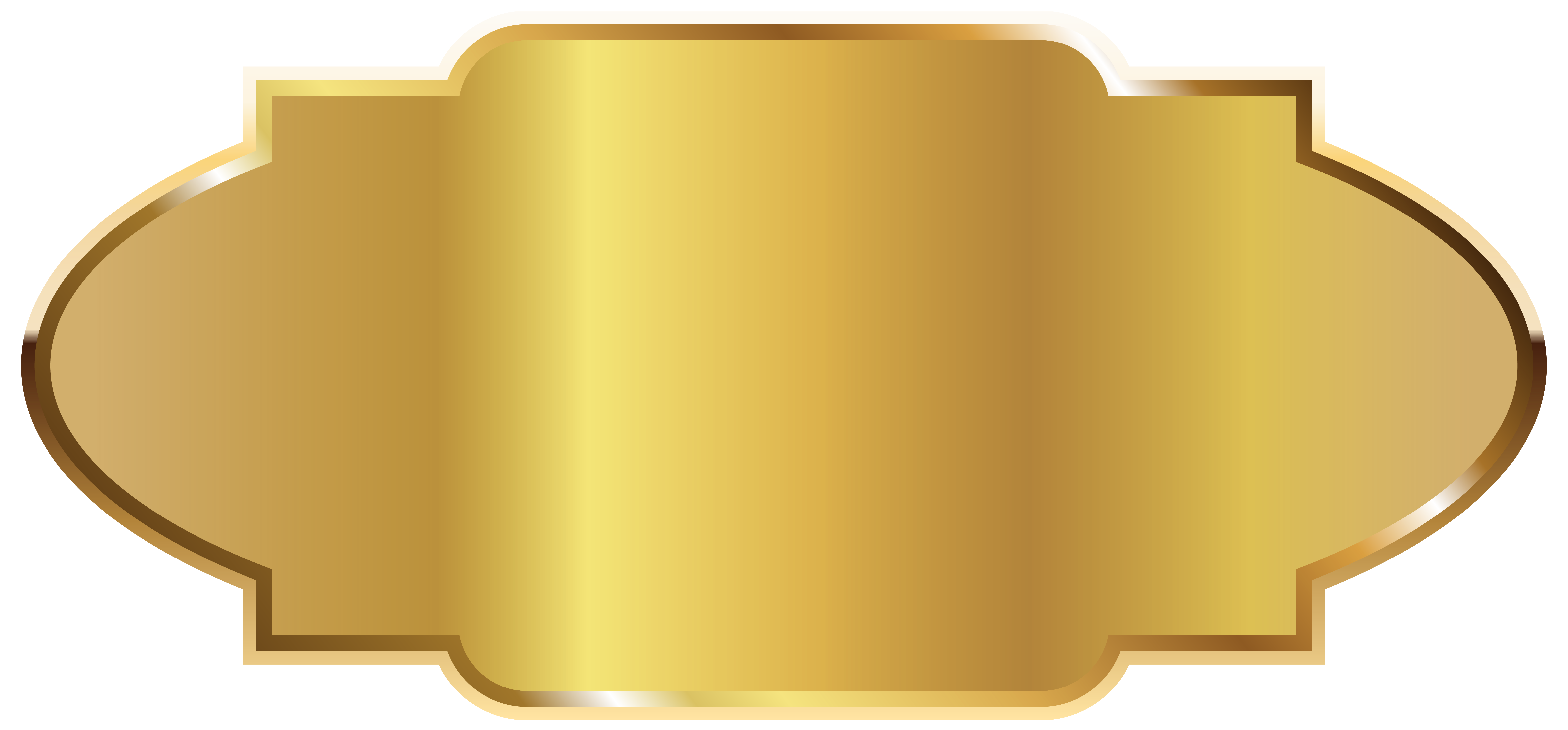 Golden label template png. Ticket clipart gold