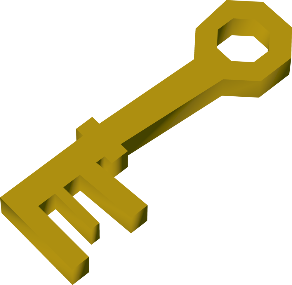 Chest digsite runescape wiki. Key clipart crossed key