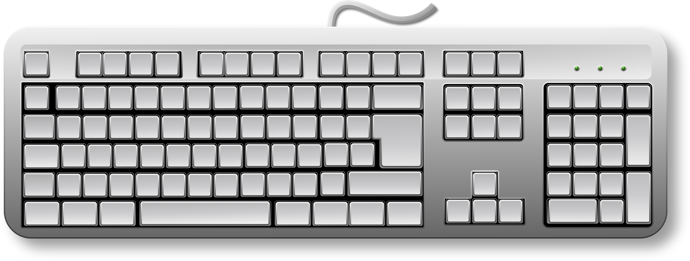 collection of blank. Keyboard clipart print