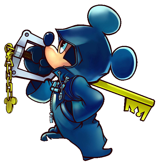 Key clipart mickey mouse. Kingdom hearts hooded kh