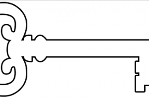 Key station . Keys clipart old fashioned