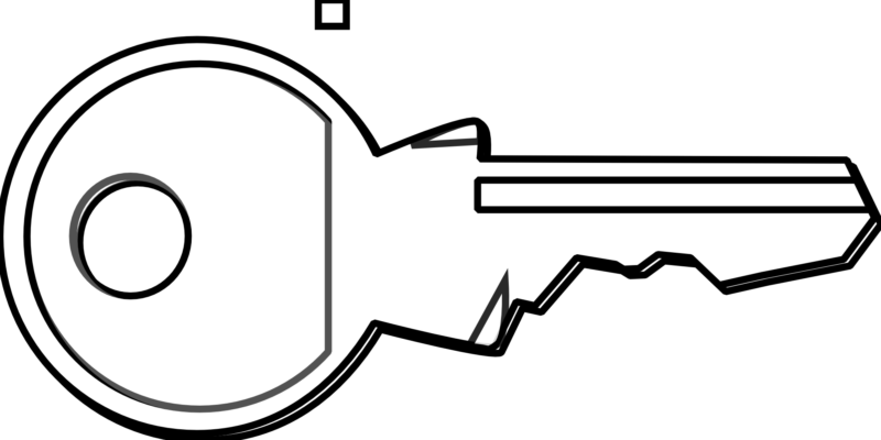 Key clipart outline. Best free images and