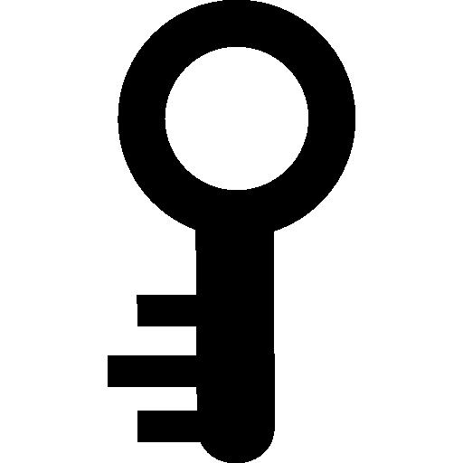 Key clipart small key. Circular shape icons free