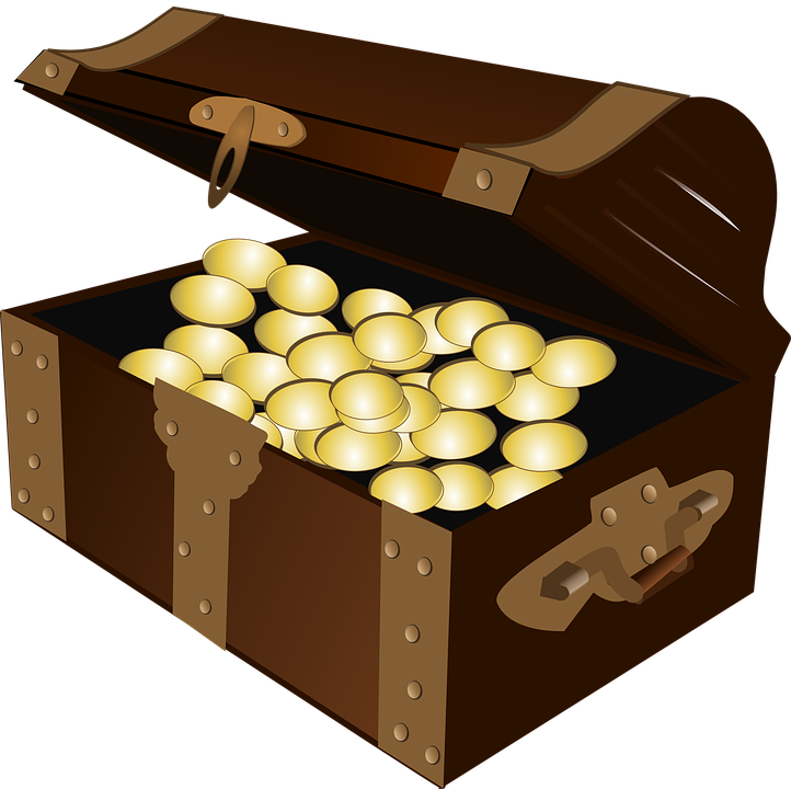 Pictures of chests group. Treasure clipart riches
