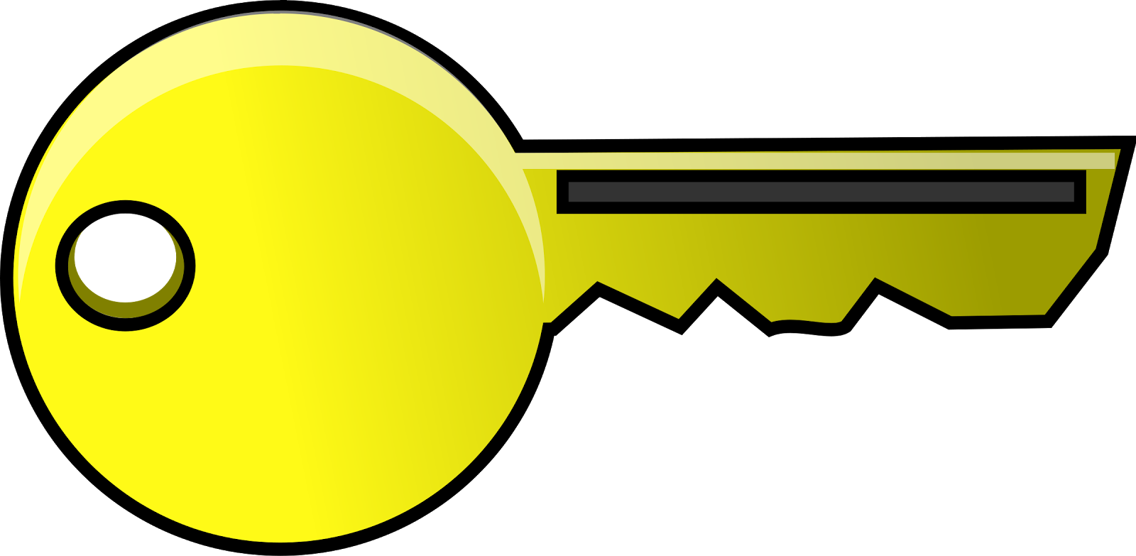 Key clipart yellow. Computer icons clip art