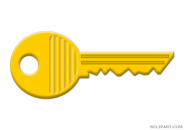 Key clipart yellow. Bclipart tools free images