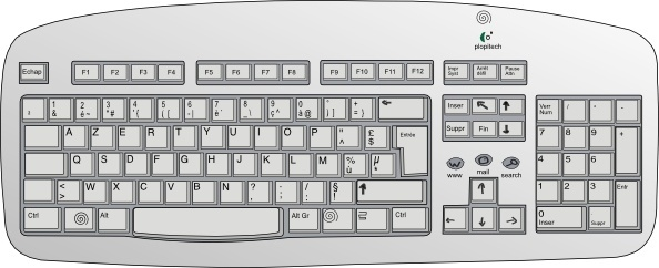 Piano clip art free. Keyboard clipart