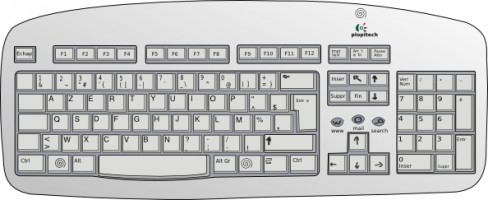 Keyboard clipart computer keypad. Free cliparts download clip