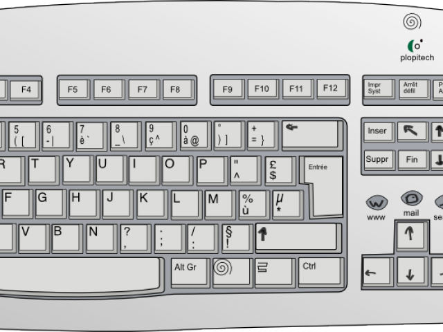 Keyboard clipart computer keypad. Free download clip art