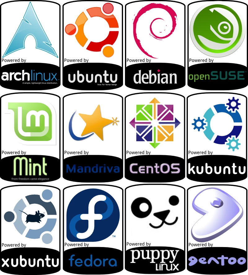 Various distro stickers www. Keyboard clipart linux