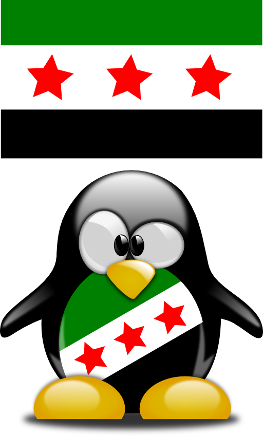 Keyboard clipart linux. Syrian tux i royalty