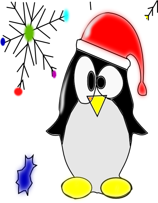 Keyboard clipart linux. Penguin i royalty free