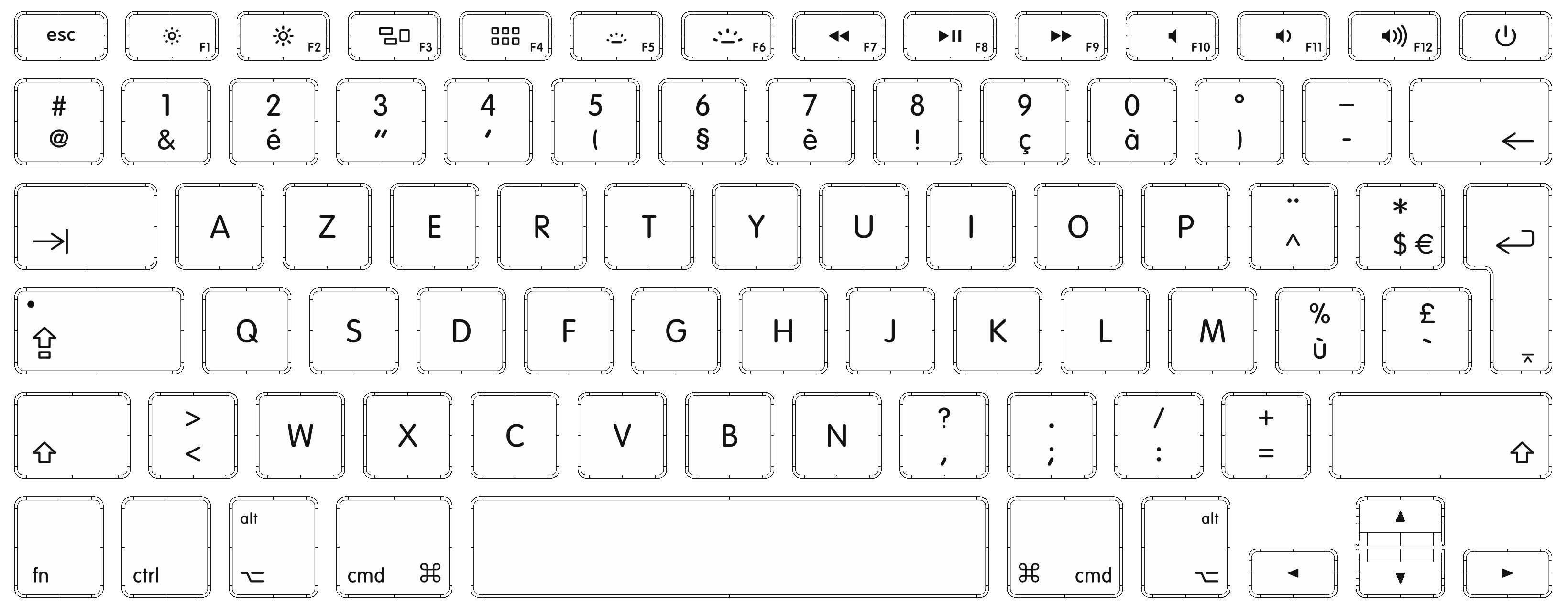 photo about Keyboard Template Printable named Keyboard clipart mac keyboard, Keyboard mac keyboard