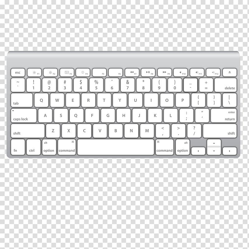 Keyboard clipart macbook keyboard. Computer magic mouse
