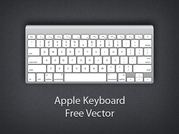 Apple wireless free vector. Keyboard clipart macbook keyboard