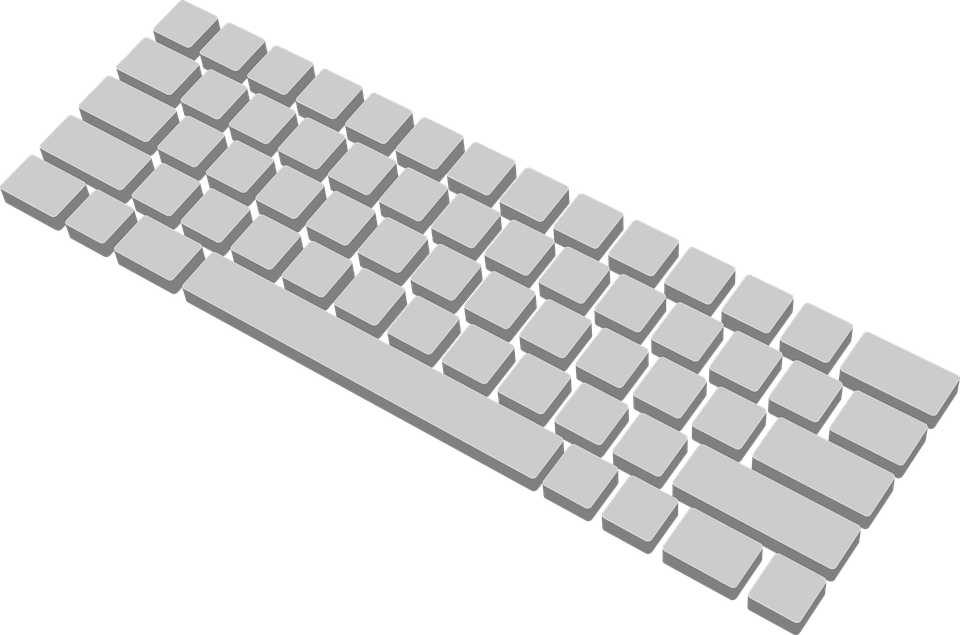 Graphic desktop backgrounds free. Keyboard clipart modern computer