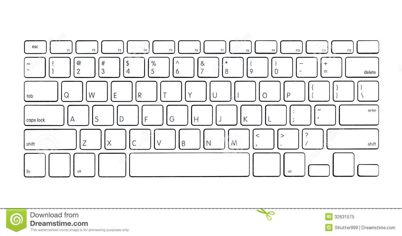 clipartlook. Keyboard clipart modern computer