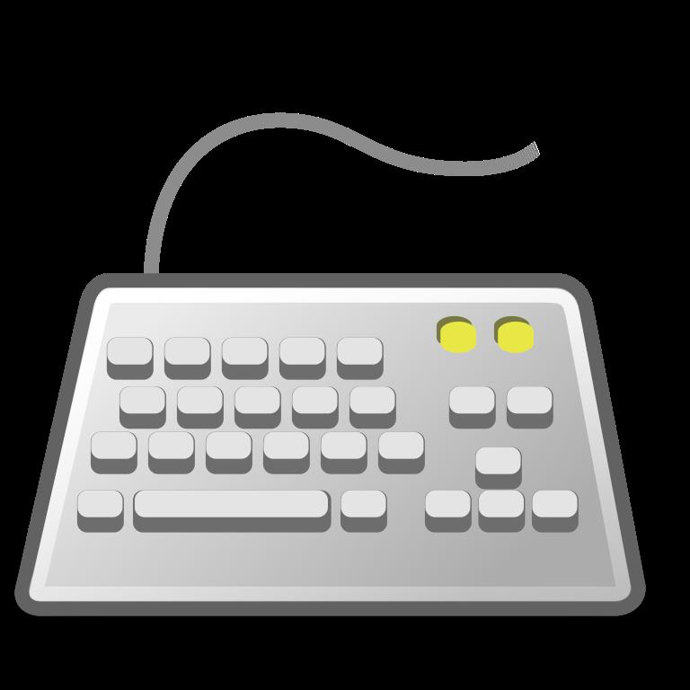 keyboard clipart pixel art