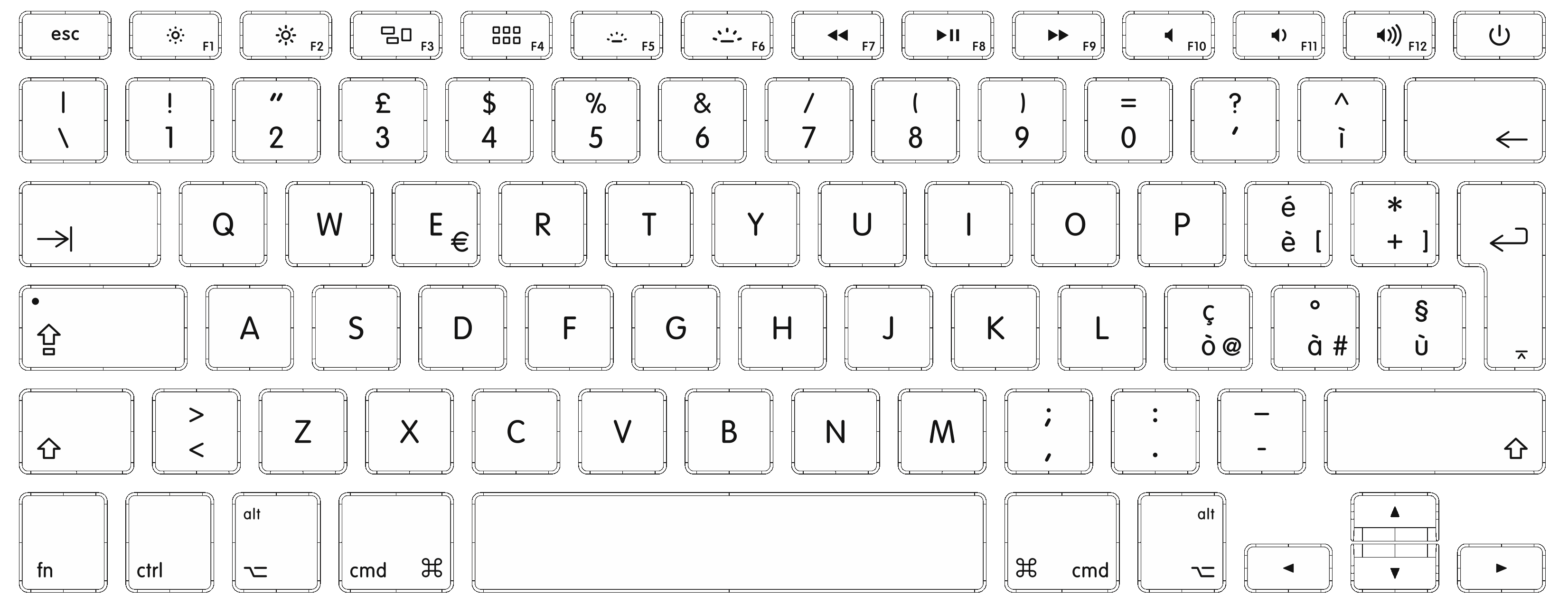 Diagram on dumielauxepices net. Keyboard clipart royalty free
