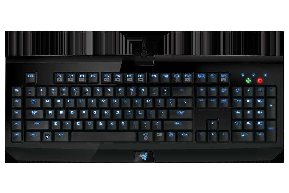 Razer blackwidow ultimate classic. Keyboard clipart visually impaired