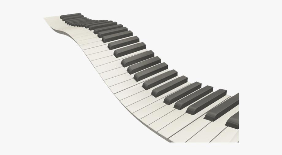 Piano keys png free. Keyboard clipart wavy