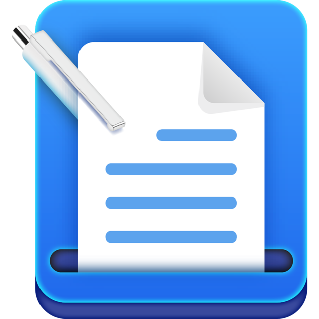Keyboard clipart word processing. Doc writer processor on