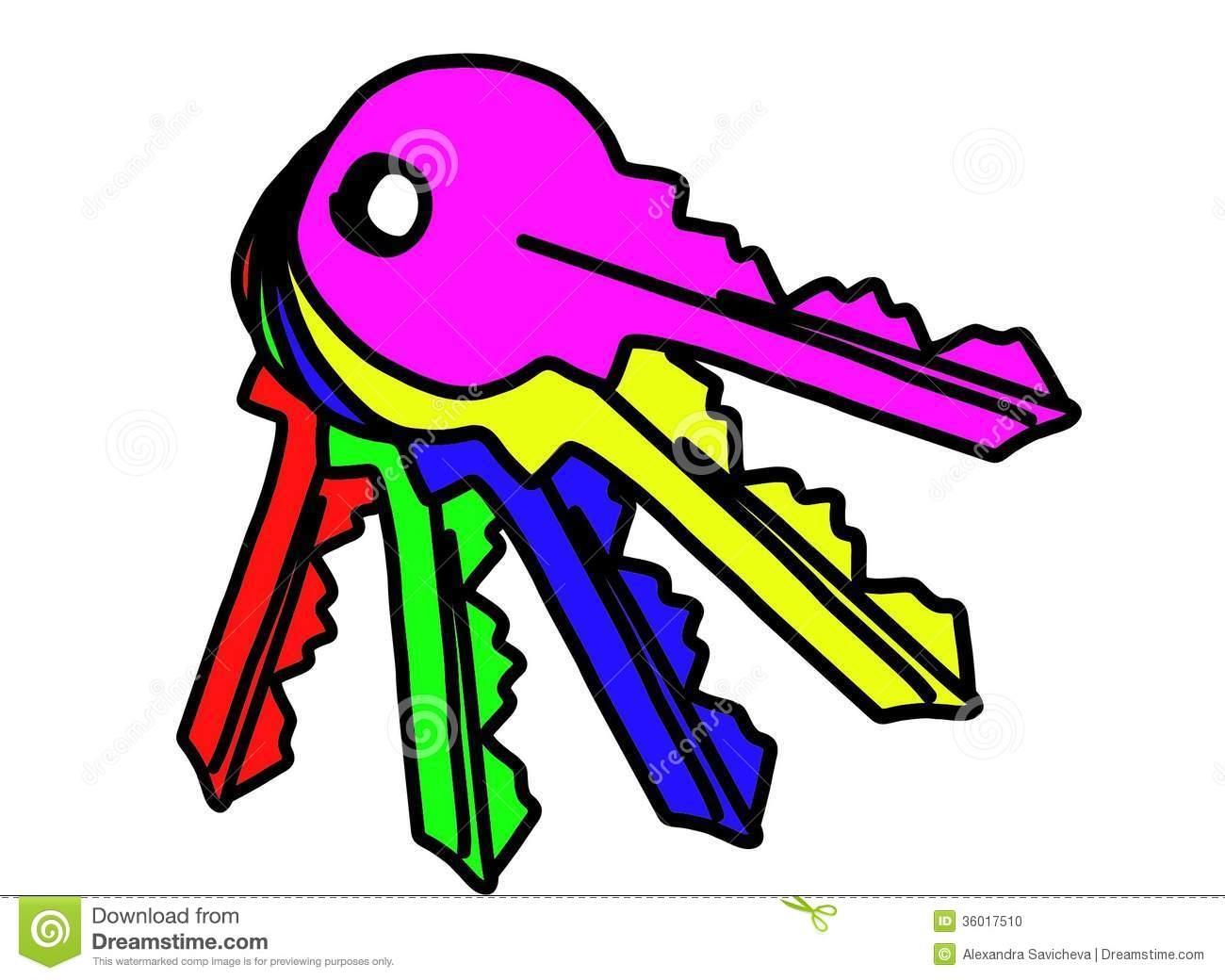 Keys clipart. Unique gallery digital collection