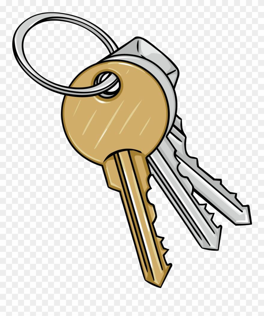Key clipart bunch.  x cartoon keys