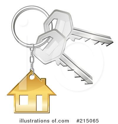 Illustration by oligo . Keys clipart house key