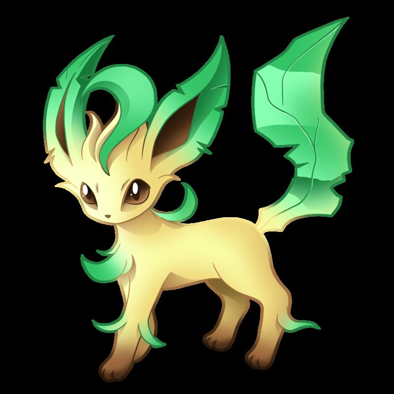 Leafeon pok mon know. Pokemon clipart fox